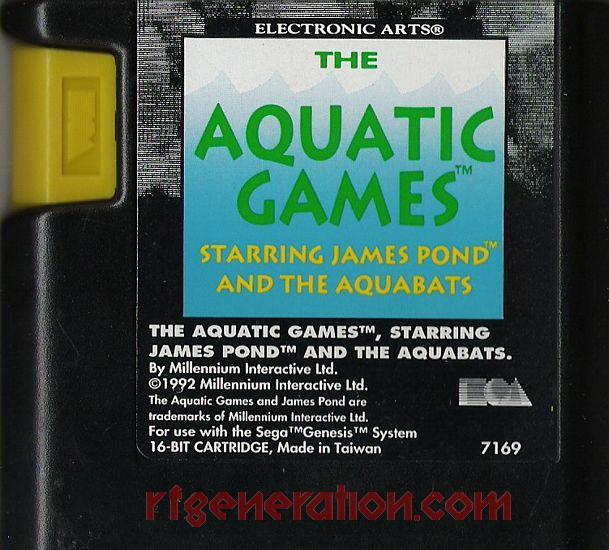 Aquatic Games, The: Starring James Pond and the Aquabats Game Scan