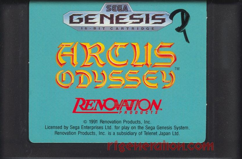 Arcus Odyssey Game Scan
