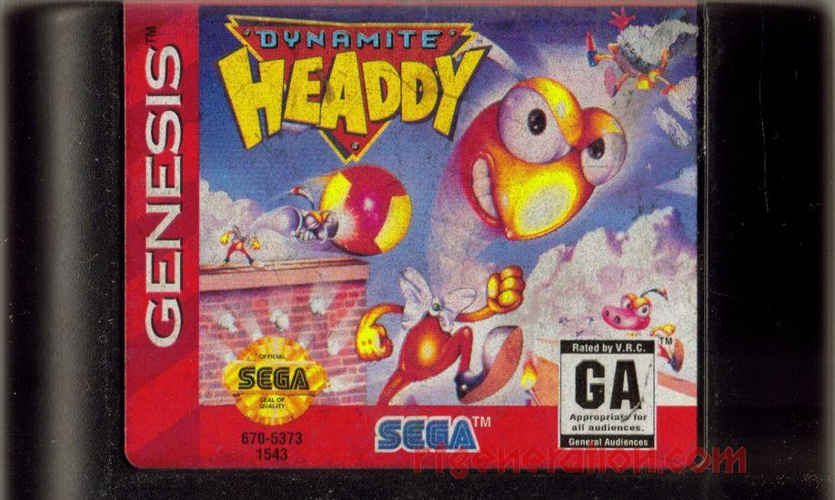 Dynamite Headdy Game Scan