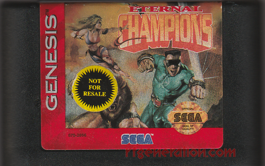 Eternal Champions <sup>[Not For Resale Cart]</sup> Game Scan