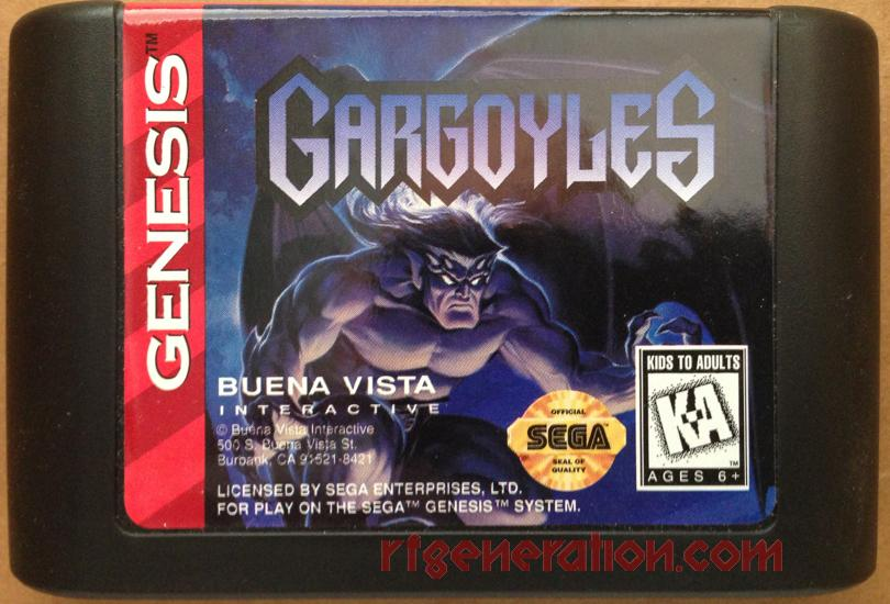 Gargoyles Game Scan
