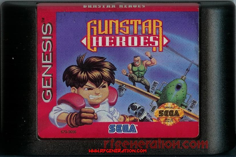 Gunstar Heroes Game Scan