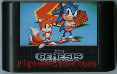 Sonic the Hedgehog 2 Game Scan