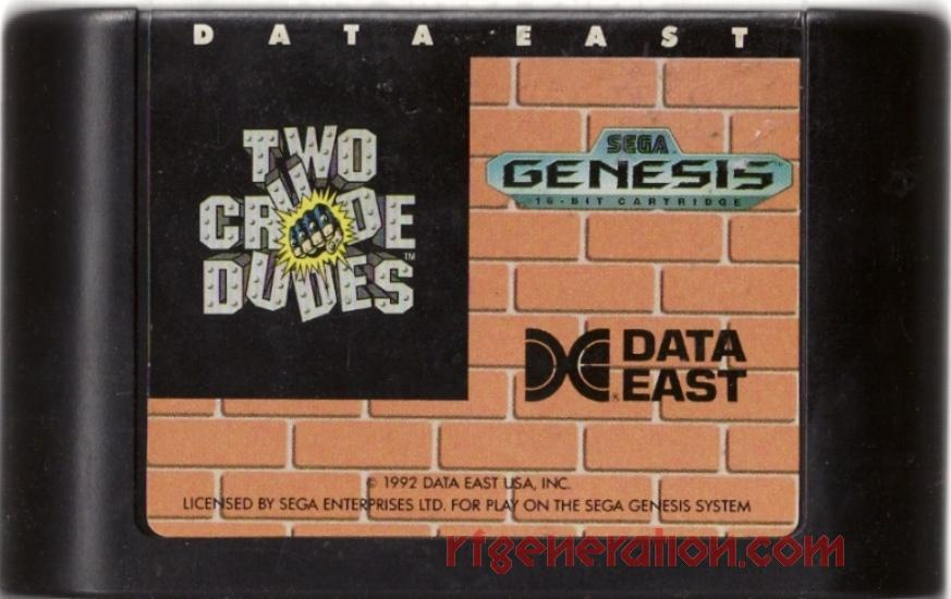 Two Crude Dudes Game Scan