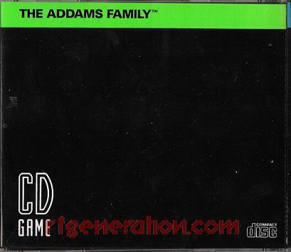 Addams Family, The In-Game Screen
