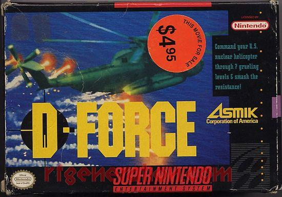 D-Force Box Front