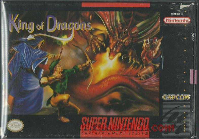 King of Dragons, The Box Front
