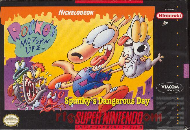 Rocko's Modern Life: Spunky's Dangerous Day Box Front