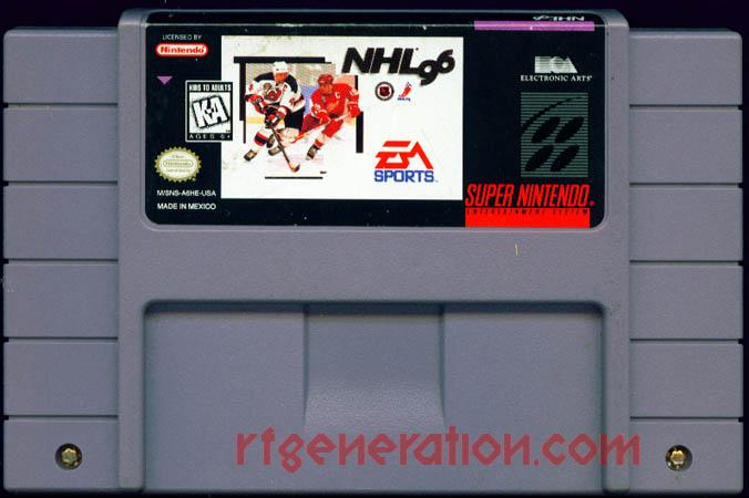 NHL '96 Game Scan