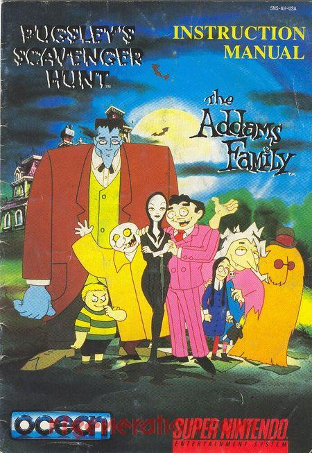 Addams Family, The: Pugsley's Scavenger Hunt Manual Scan