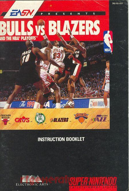 Bulls vs Blazers and the NBA Playoffs Manual Scan