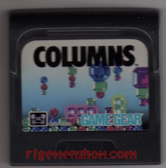 Columns In-Game Screen