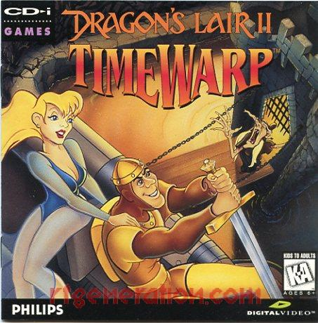 Dragon's Lair II: Timewarp Manual Scan