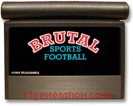 Brutal Sports Football Game Scan