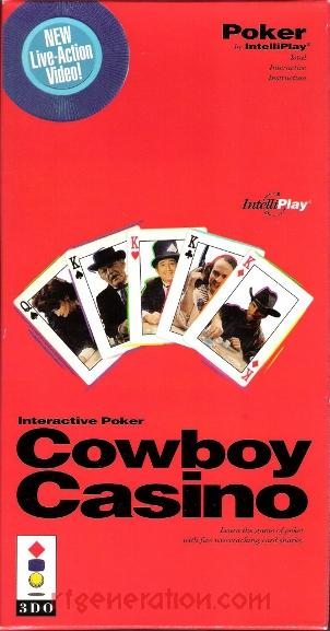 Cowboy Casino Box Front