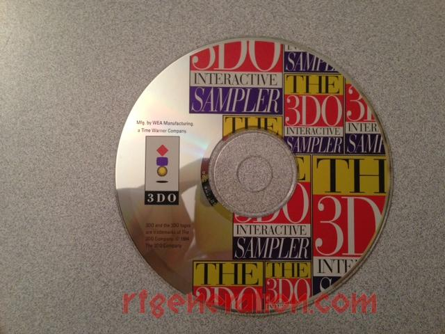 3DO Interactive Sampler CD #1, The <sup></sup> Game Scan