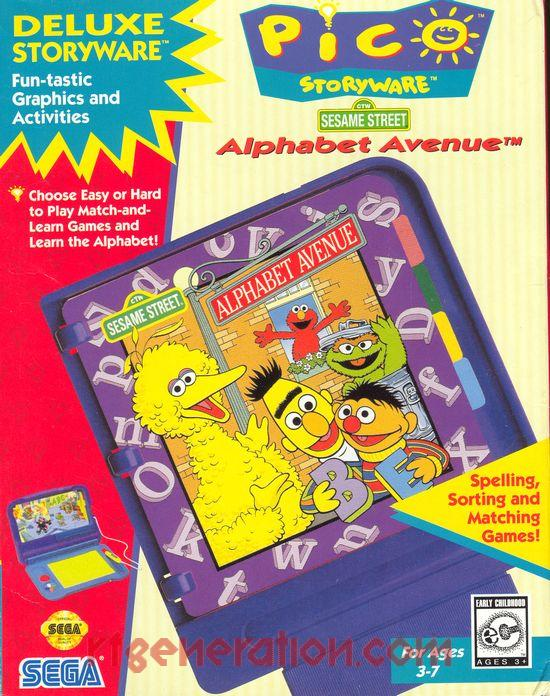 RF Generation: Sesame Street Alphabet Avenue (Sega Pico)