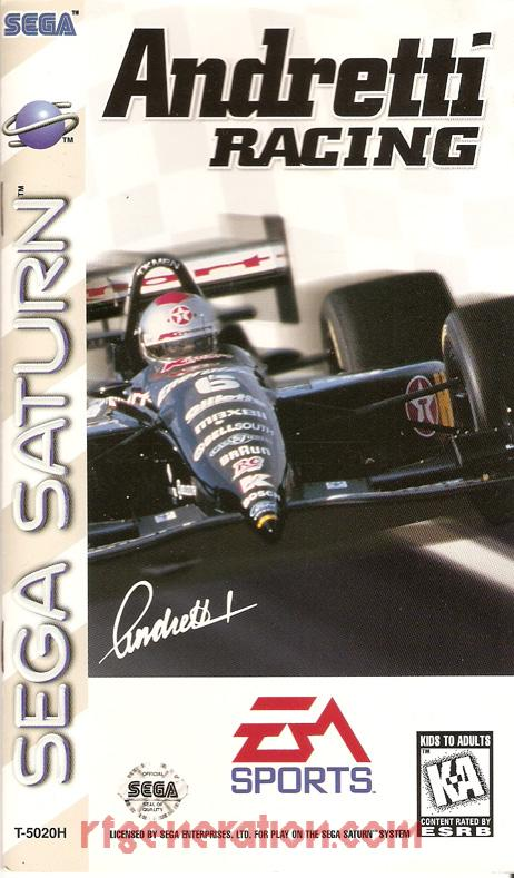 Andretti Racing Manual Scan