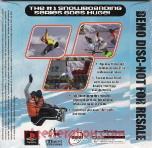 Cool Boarders 4 <sup></sup> Box Back