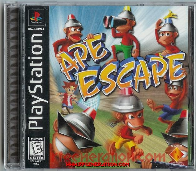 Ape Escape Box Front