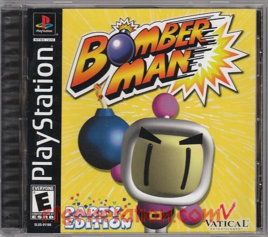 Bomberman Party Edition Box Front