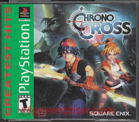 Chrono Cross <sup>[Greatest Hits - Square Enix]</sup> Box Front