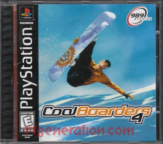 Cool Boarders 4 Box Front