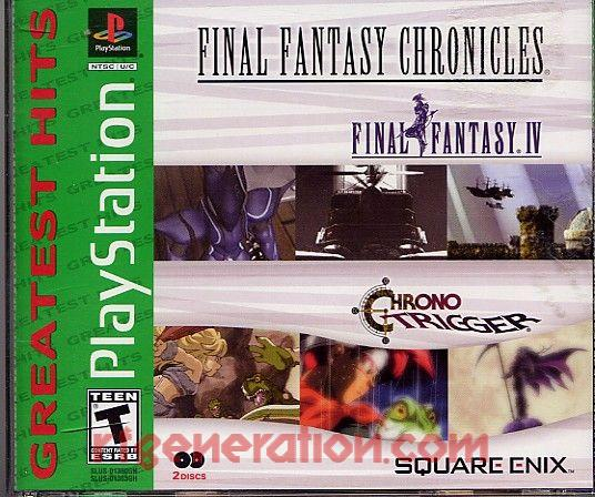 Final Fantasy Chronicles <sup>[Greatest Hits]</sup> Box Front