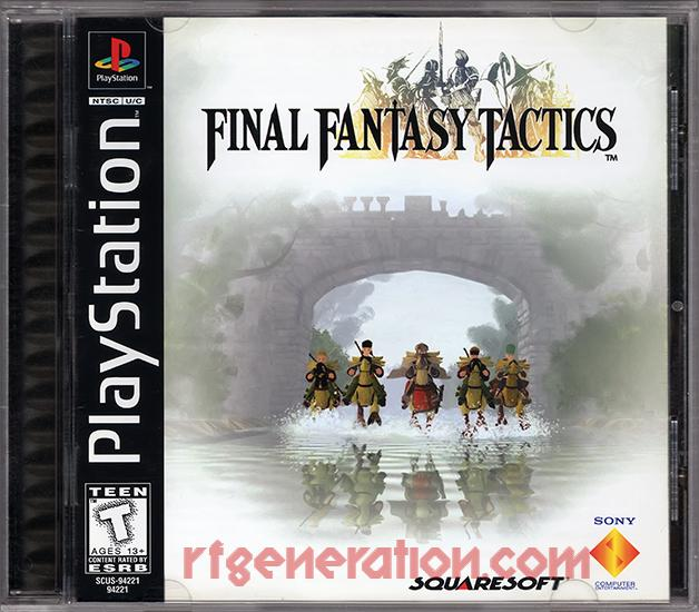 Final Fantasy Tactics Box Front