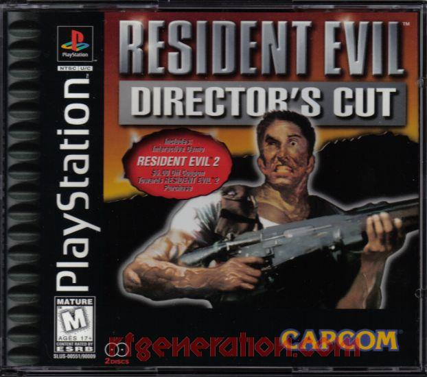 Resident Evil: Director's Cut <sup>[Resident Evil 2 Demo]</sup> Box Front
