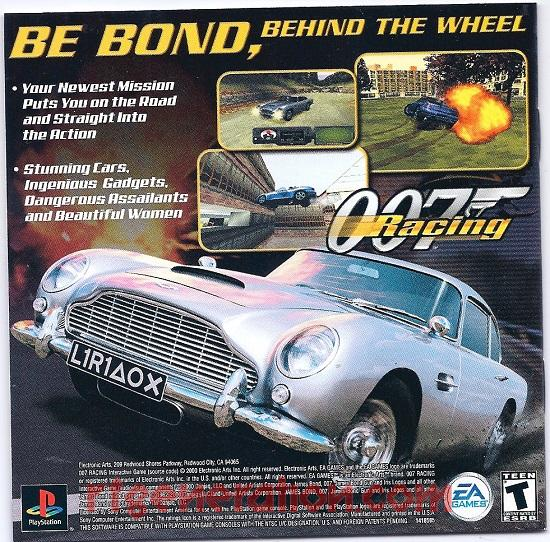 007: The World is Not Enough In-Game Screen