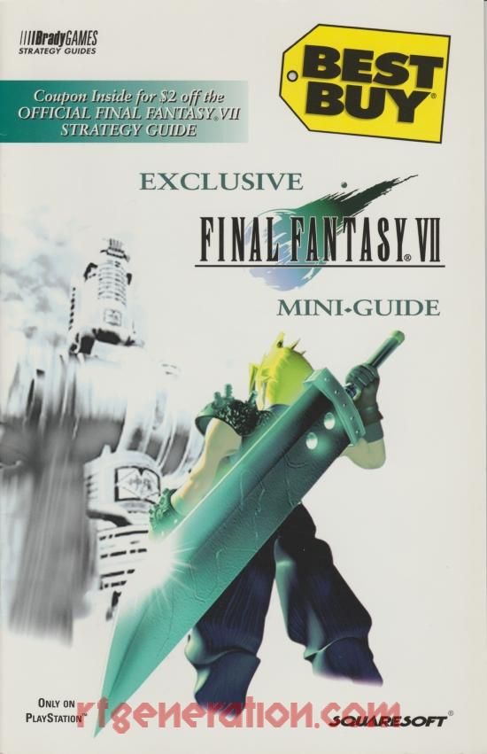 Final Fantasy VII In-Game Screen