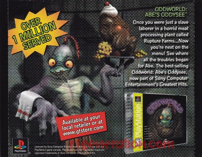 Oddworld: Abe's Exoddus In-Game Screen