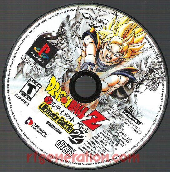Dragon Ball Z: Ultimate Battle 22 Game Scan