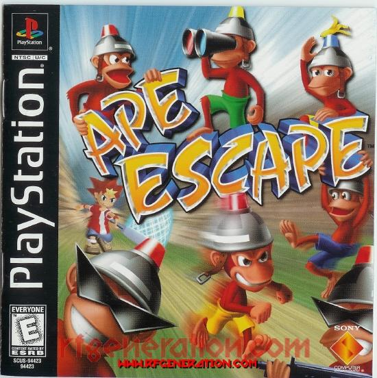 Ape Escape Manual Scan