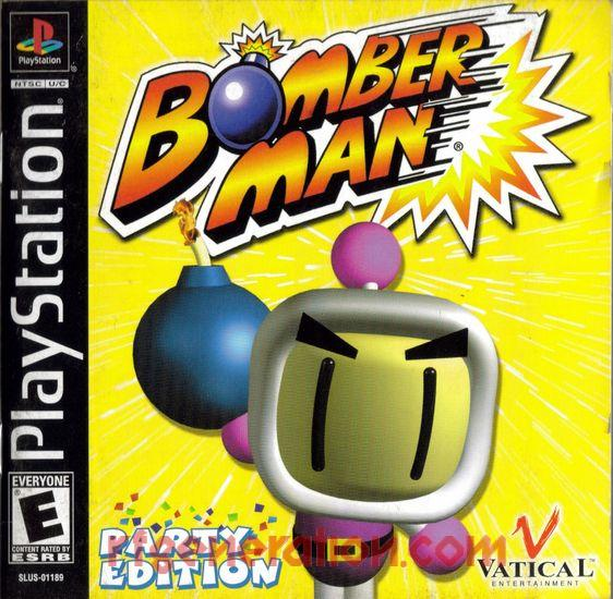 Bomberman Party Edition Manual Scan