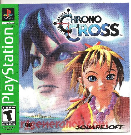 Chrono Cross <sup>[Greatest Hits - Squaresoft]</sup> Manual Scan