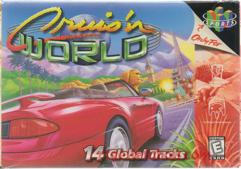 Cruis'n World Box Front