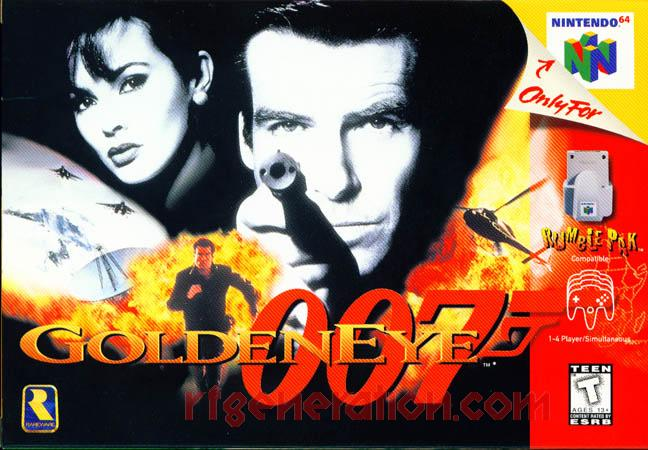 GoldenEye 007 Box Front