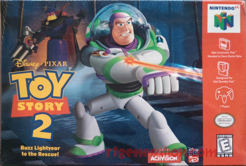 Toy Story 2: Buzz Lightyear to the Rescue! Box Front