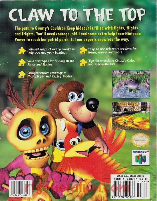 Banjo-Tooie In-Game Screen