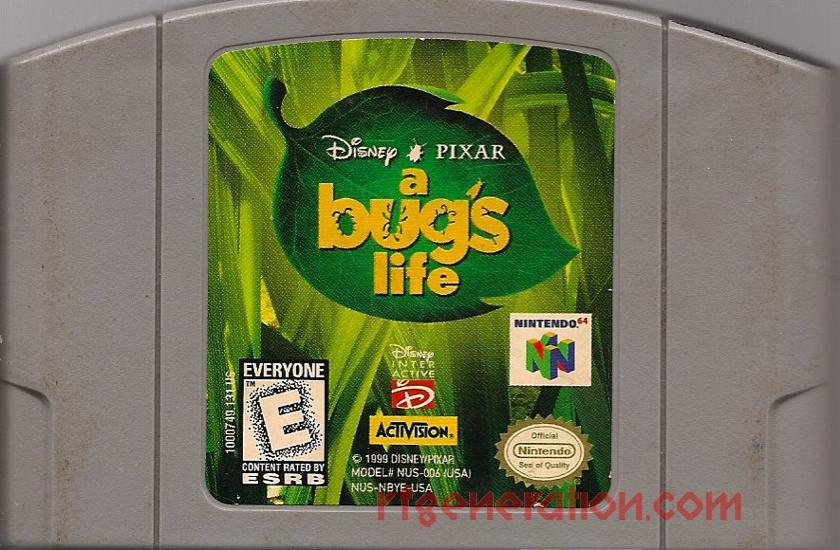 Bug's Life, Disney/Pixar's A Game Scan