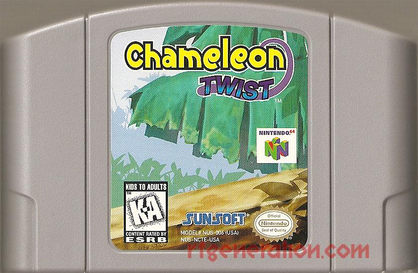 Chameleon Twist Game Scan