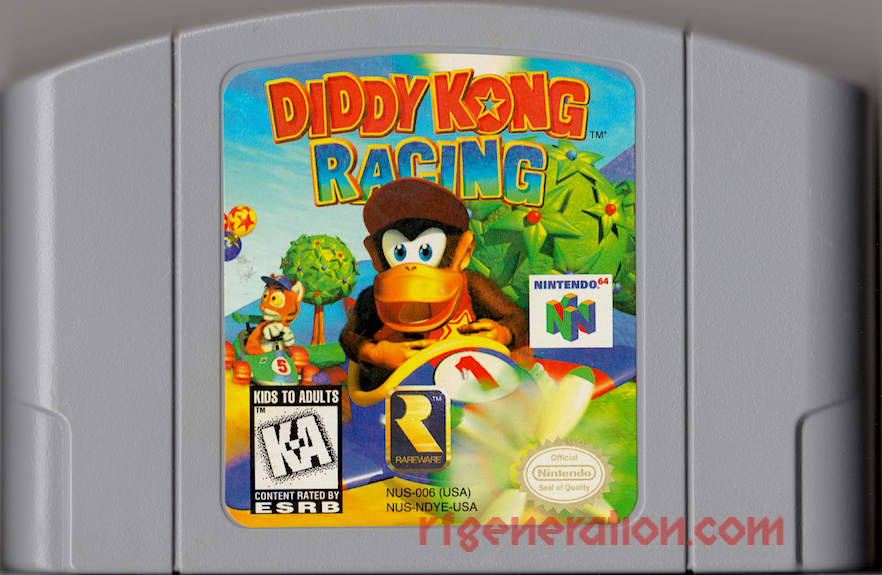 Diddy Kong Racing Game Scan