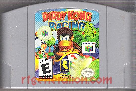 Diddy Kong Racing <sup>[Players Choice Million Seller]</sup> Game Scan