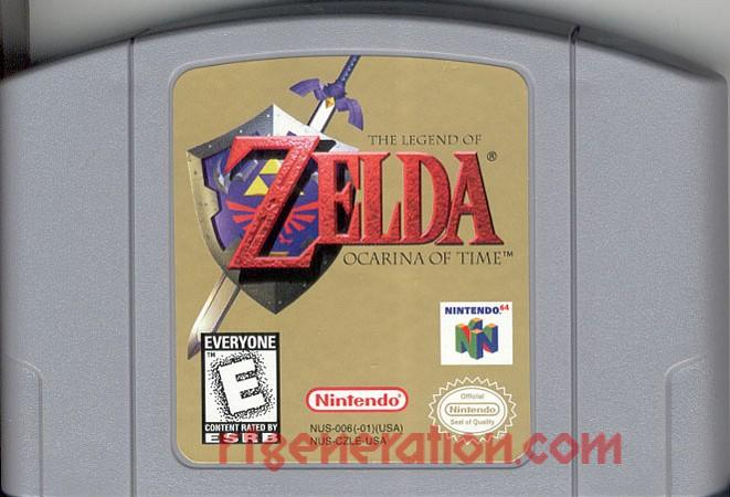 Legend of Zelda, The: Ocarina of Time Game Scan