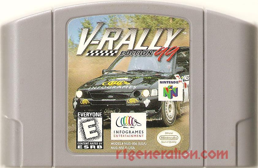V-Rally Edition '99 Game Scan