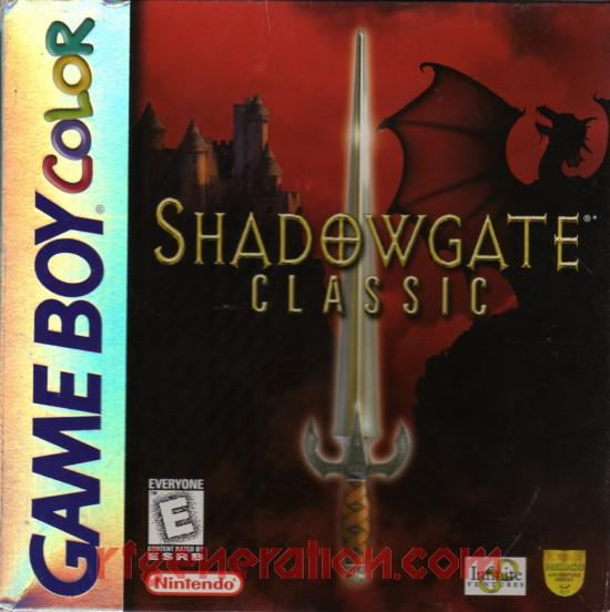 Shadowgate Classic Box Front