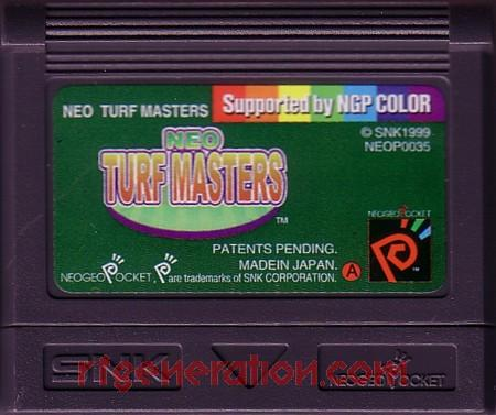 Neo Turf Masters Game Scan
