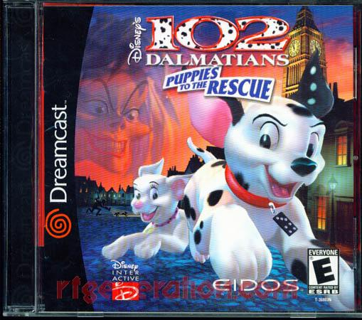 102 Dalmatians, Disney's: Puppies to the Rescue Box Front